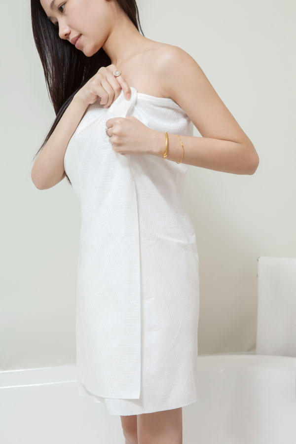 Non Woven Bath Towel for Beauty SPA