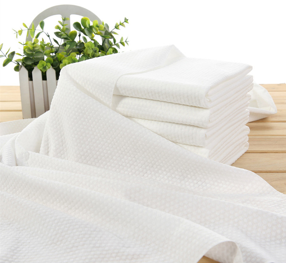 Disposable spa Yoga towels quickly absorb non-woven cotton towels